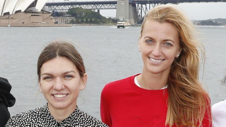 Five Minutes With... Petra Kvitova and Simona Halep