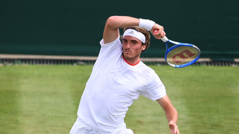 Fresh off a runner-up finish at the French Open, Stefanos Tsitsipas will try to take the final step towards his first major at Wimbledon. In the first round, though, he gets a tough test in Frances Tiafoe.