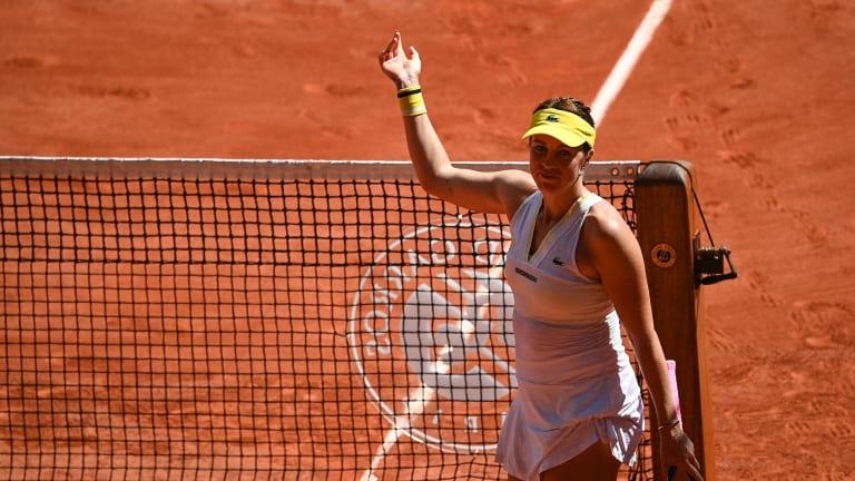 Pavlyuchenkova overcame rivals Aryna Sabalenka and Victoria Azarenka en route to the championship match (Getty Images).