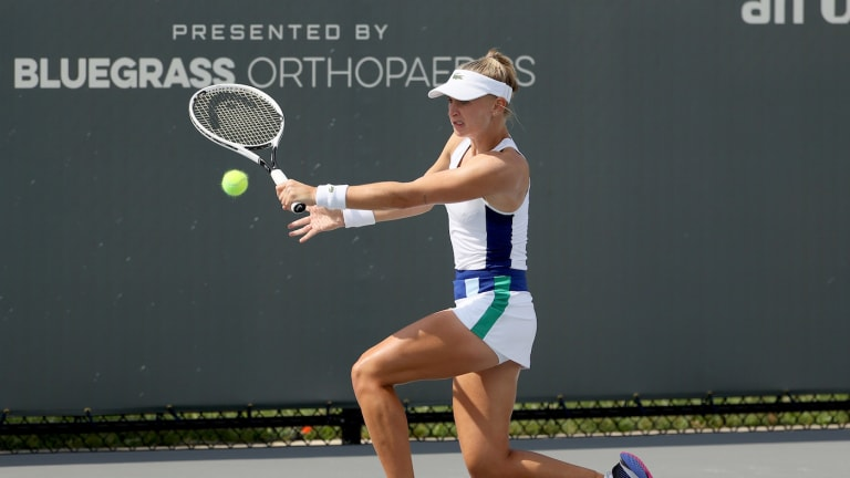 Jill Teichmann dispatches Shelby Rogers to reach Lexington final