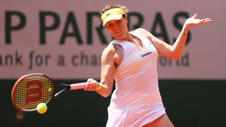 Pavlyuchenkova had never before beaten Azarenka in a completed match (previously 1-5) (Getty Images).