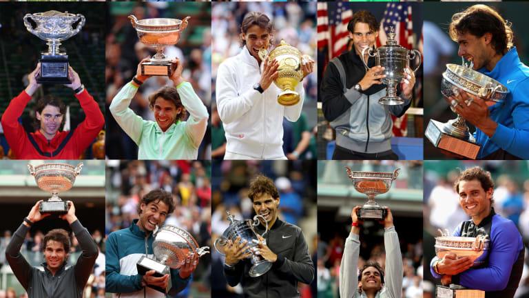 Rafael Nadal: 20 stats in celebration of his 20th Grand Slam title
