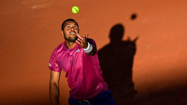 Jo-Wilfried Tsonga took a first-round loss in singles, and a second-round loss in doubles.