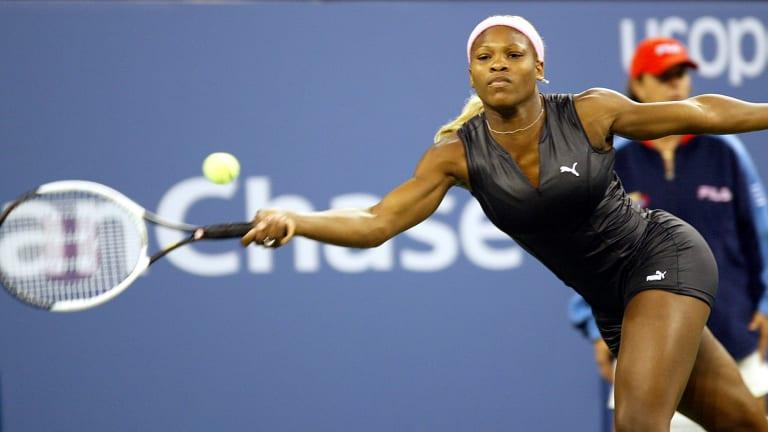 Serena salutes  Flo-Jo with  AO bodysuit