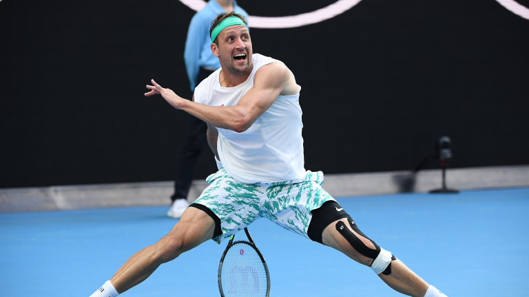 """The best may be yet to come for Tennys Sandgren, tennis' """"everyman"""""""
