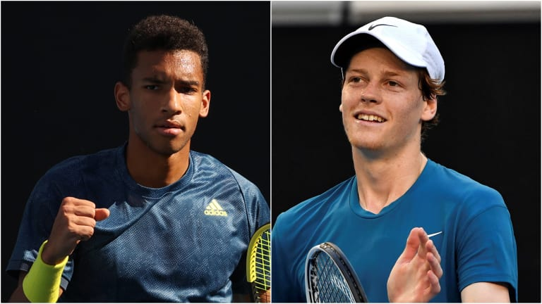 Melbourne: FAA or Evans will claim first ATP title; Sinner stays hot