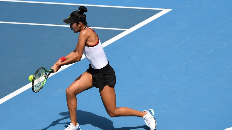 Up-and-coming American Ann Li upsets No. 13-seeded Alison Riske