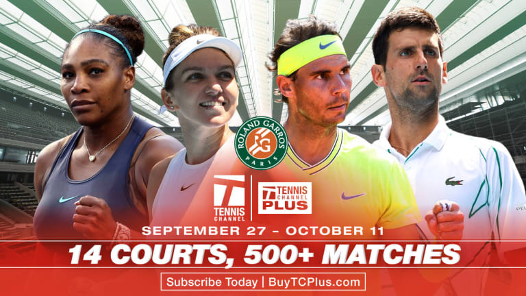Revealing and reacting to the 2020 Roland Garros men's & women's draws