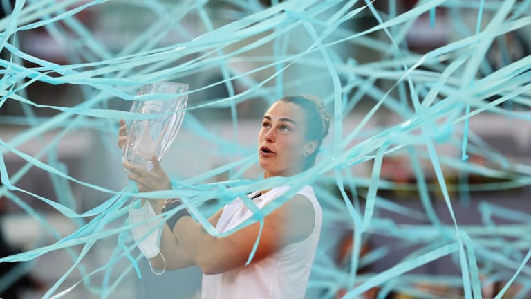 Ranking Reaction: Medvedev passes Nadal for No. 2, Sabalenka now No. 4