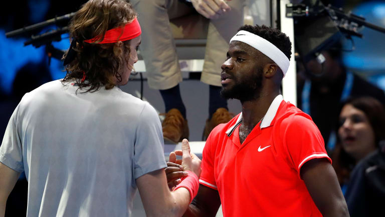 Tsitsipas enters his meeting with Tiafoe at a career-high No. 4 in the ATP rankings.
