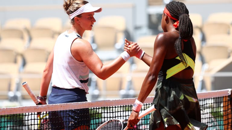 In the lead-up to Paris, Krejcikova triumphed in Strasbourg and Gauff tasted victory in Parma.