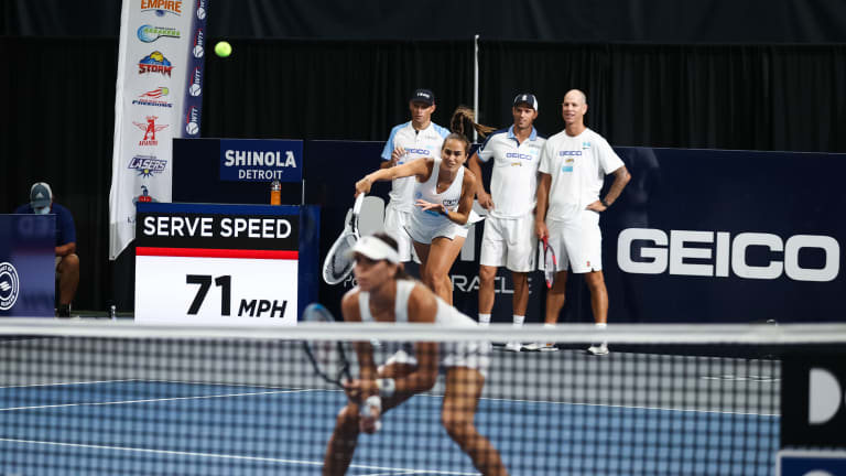 Puig works through injuries and match rustiness at World TeamTennis