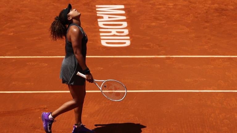 In Madrid's second round, No. 2 Naomi Osaka falls to Karolina Muchova