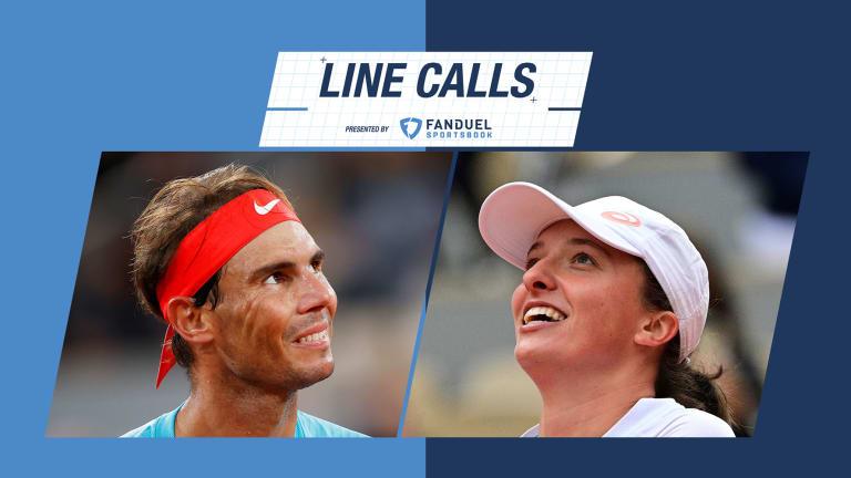Line Calls presented by FanDuel Sportsbook: Roland Garros futures