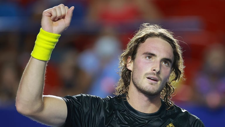 Tsitsipas tops Isner in 57 minutes in Acapulco, Auger-Aliassime awaits