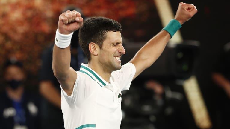 Djokovic tops Medvedev in straights for 18th Slam, 9th Australian Open