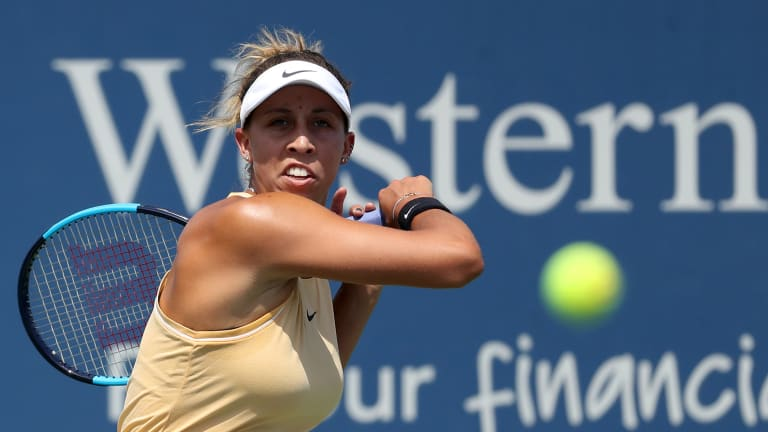Madison Keys needed one shot to flip the switch and win in Cincinnati
