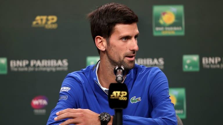 Djokovic quiet on Kermode position, but wants structural tour changes