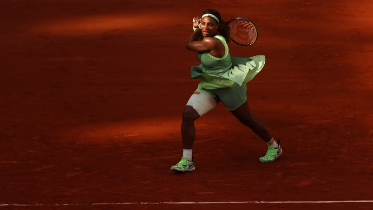 Serena was simply too inconsistent against an opponent who was playing too well to offer much margin.