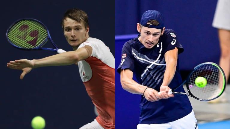 Alex de Minaur, Alexander Bublik to battle for Antalya title
