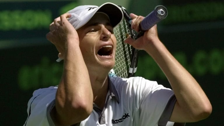 TBT, 2001: Andy Roddick goes toe-to-toe with Pete Sampras in Miami