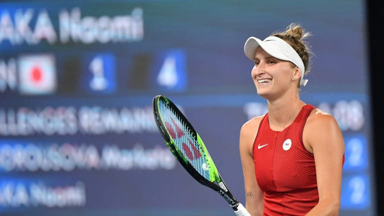 Vondrousova's win over No. 2 Osaka is her fourth career Top 10 win, and third over a No. 2.