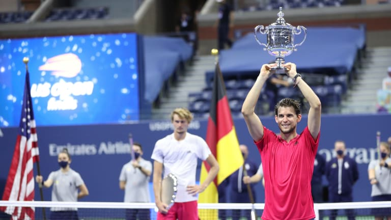 Down two sets, Thiem crushes Zverev's US Open dream to achieve his own