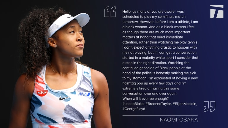 """Naomi Osaka is redefining what it means to be """"good for the game"""""""