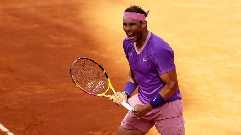 Nadal masterfully moves past Opelka to enter 12th-career Rome final