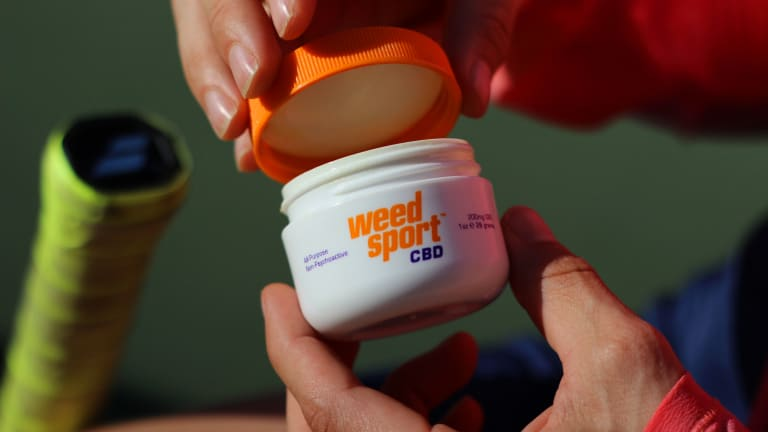WeedSport continues  to shatter CBD  stigmas in tennis