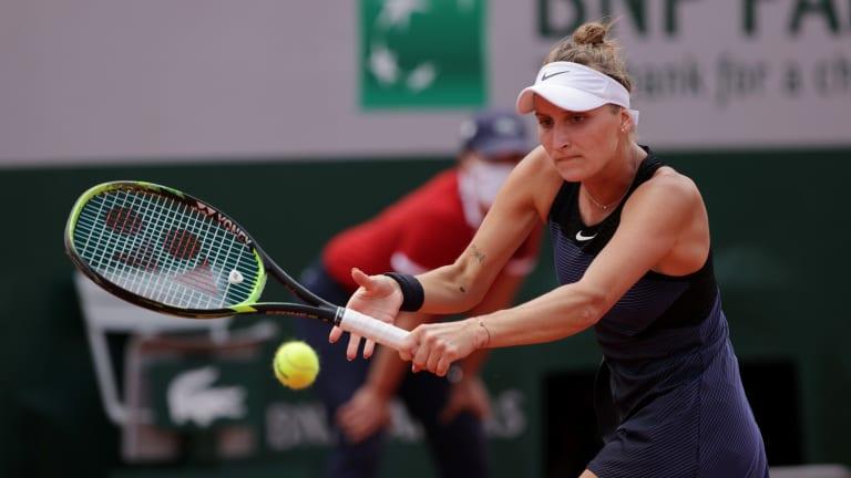 It takes a former French Open finalist to know one, as Marketa Vondrousova explained.