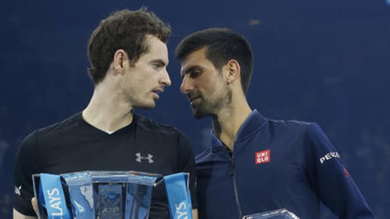 Andy Murray beat Novak Djokovic and clinched No. 1 in true Big-4 style