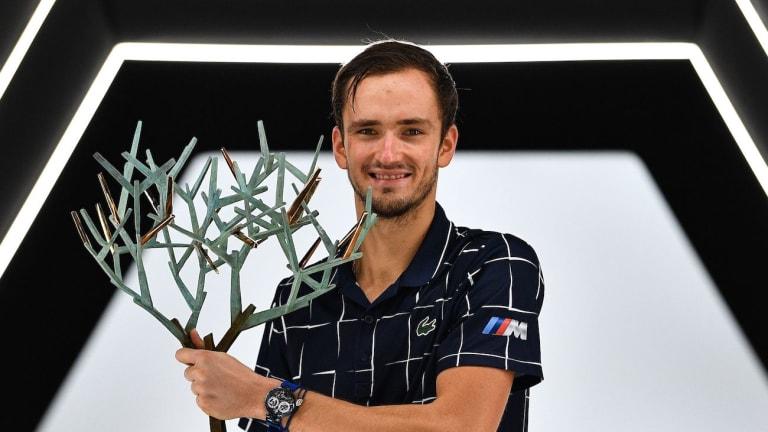 Weekend Winners: Medvedev, Auger-Aliassime pick up trophies in Paris
