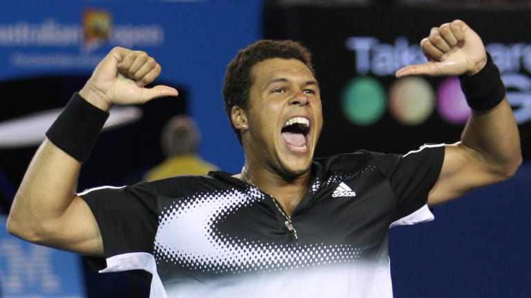 Tsonga defeated three Top 10 seeds, including No. 2 Rafael Nadal in the semifinals, at the 2008 Australian Open.