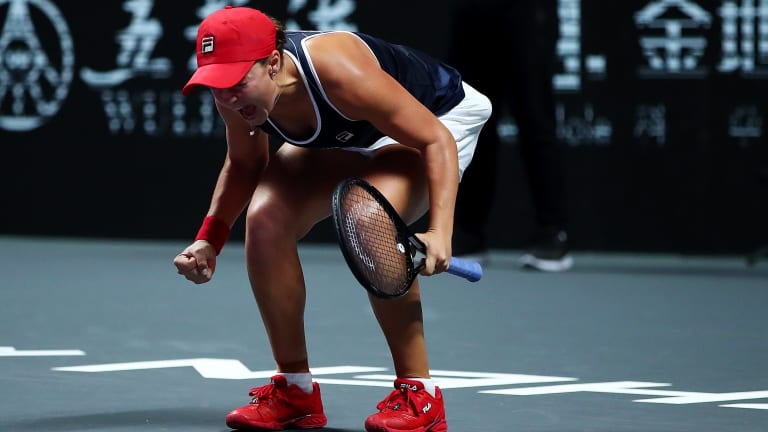 Barty has 4.42 million reasons to smile after lifting WTA Finals crown