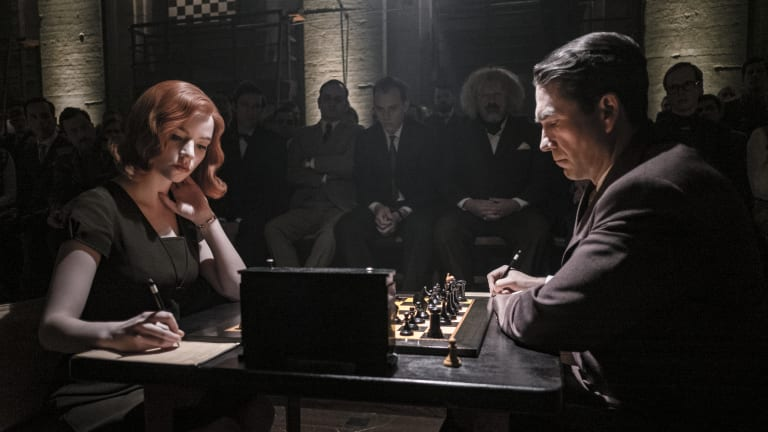 Netflix's 'The Queen's Gambit' illuminates the chess-tennis connection