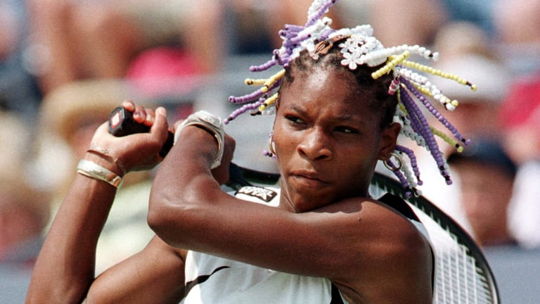 On this day, 25 years ago, Serena Williams made her pro tennis debut