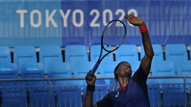 Monfils fell to 3-10 this season with his opening-round exit in Tokyo.