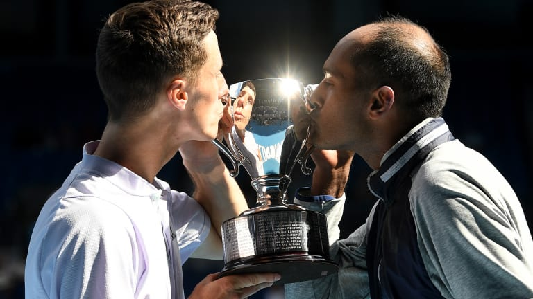 With two doubles titles in two years, Ram feels at home Down Under