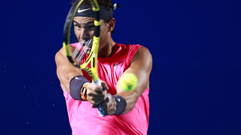 Nadal crushes Dimitrov, Fritz escapes Isner to reach 1st ATP 500 final