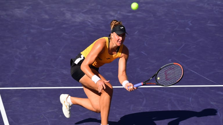 Haddad Maia took on her first Top 70 opponent since the spring of 2019, when she incurred an ADRV suspension.