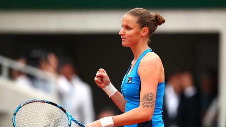 With No. 1 ranking a possibility, No. 2 seed Karolina Pliskova cruises