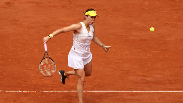 Pavlyuchenkova was in her first Grand Slam final after 52 main draw appearances (Getty Images).