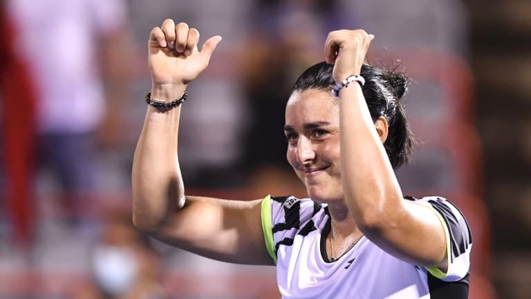 Chicago was the equal-biggest final of Jabeur's career. She reached another WTA 500 final in Moscow in 2018.