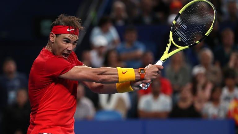 Powerhouse: Spain's Nadal, Bautista Agut throttle overmatched Georgia