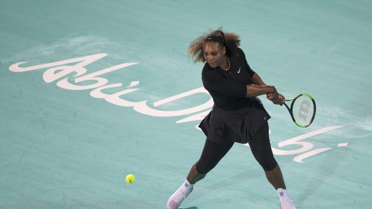 Serena, Venus, Djokovic, Nadal prepare for 2019 seasons in Abu Dhabi