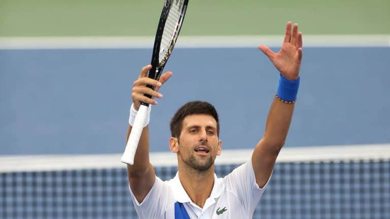 Djokovic sweeps the nine Masters events twice by refusing to give in
