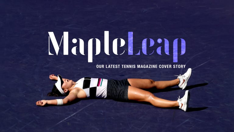 Maple Leap: How Bianca Andreescu turned a hockey nation tennis-mad