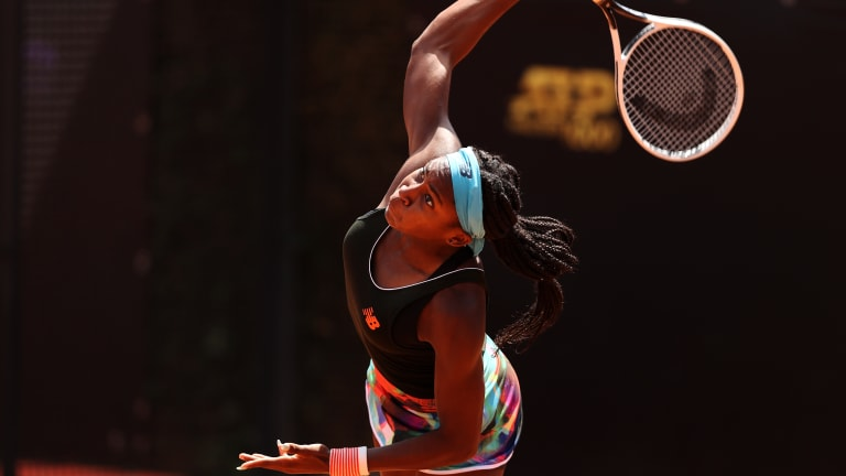Gauff relishes flawless performance with Barty matchup looming