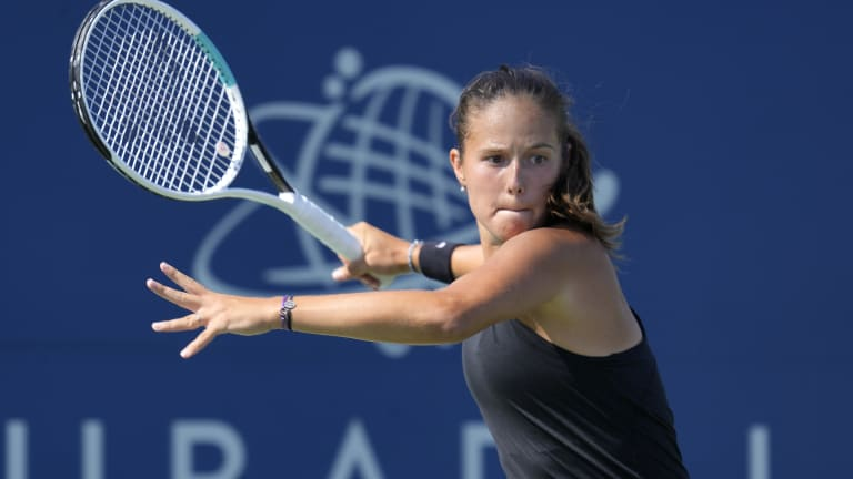 Kasatkina was aiming to clinch her second 500-level title of the year (St. Petersburg).